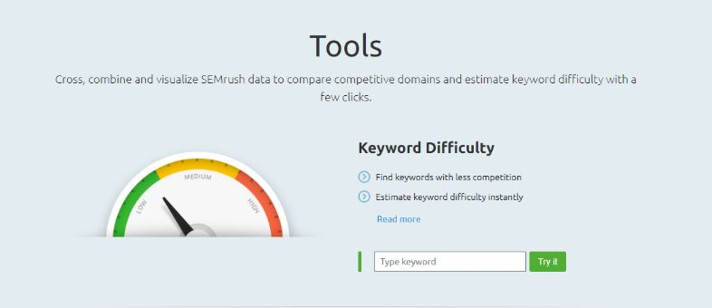 Find the best possible keywords for your niche using one of the best SEO tools