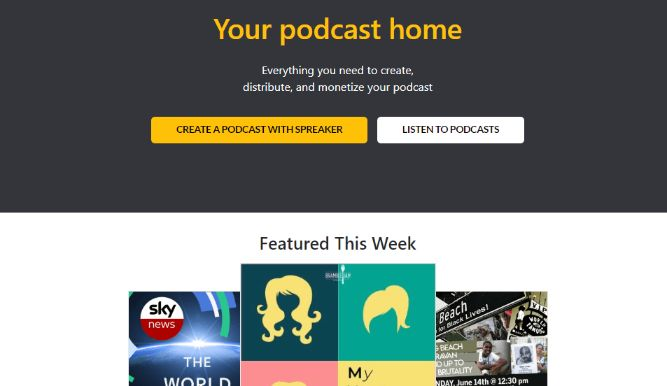 A Marketplace of Podcaster & Listeners – Free Forever