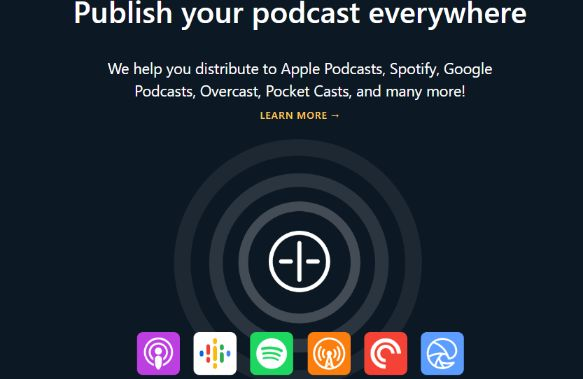 No limit in publishing your podcast