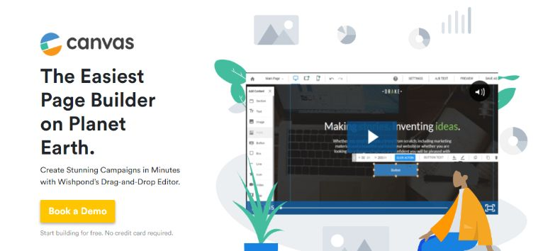 Easy 1-2-3 Landing Page Builder – with 14-days Free trial