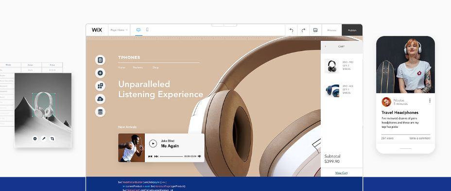 Wix is the Beginner & Advance Website Builder – Try Free