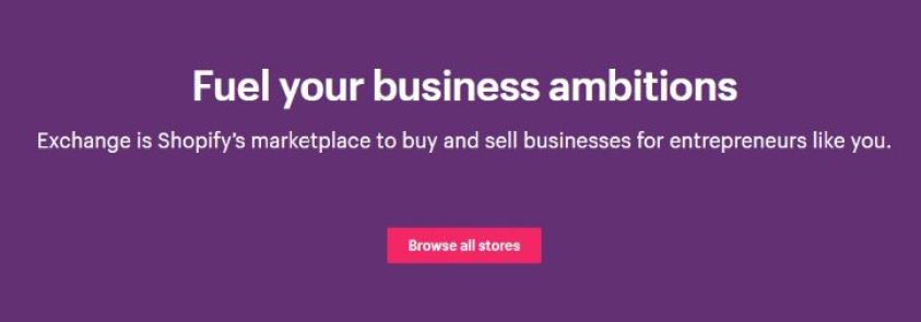 digital asset buy & sell especially for Shopify Platform