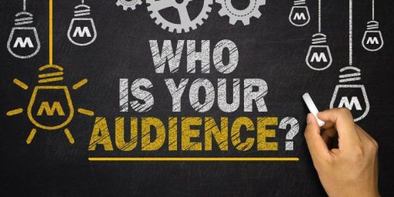 identifying your target audience is the first & most important step of all