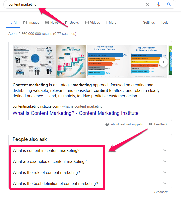 use Google to generate relevant & trendy content idea for your content marketing campaign