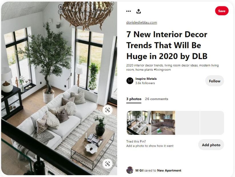 Pinterest is a perfect place to promote you products, it is far better than Instagram or Facebook
