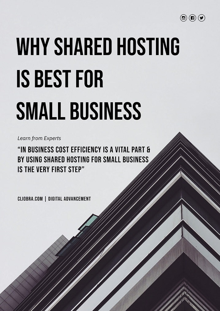 Why shared hosting is best for small business