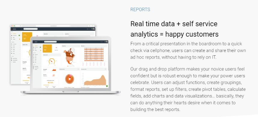 Transform your business intelligence data to instant professional report without any prior knowledge or experience.
