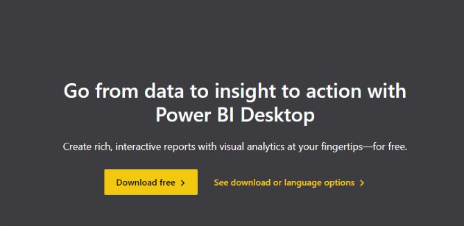 Microsoft Power BI offers you completely free business intelligence tool for your business (desktop version).