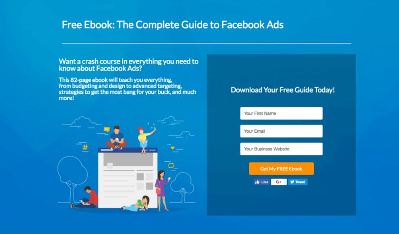 Only a powerful landing page can increase your conversion rate.