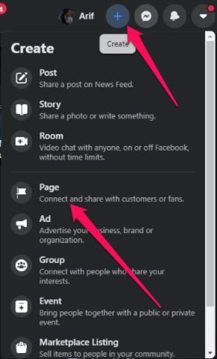 You can use your personal account to open a Facebook business page.