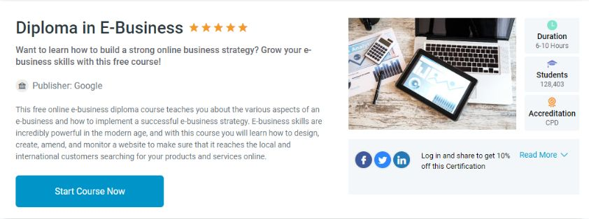 Completely free SEO training course, approved by Google.