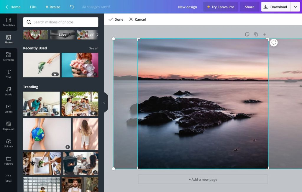 Canva is a powerful free tool to create visual content including high quality infographic.