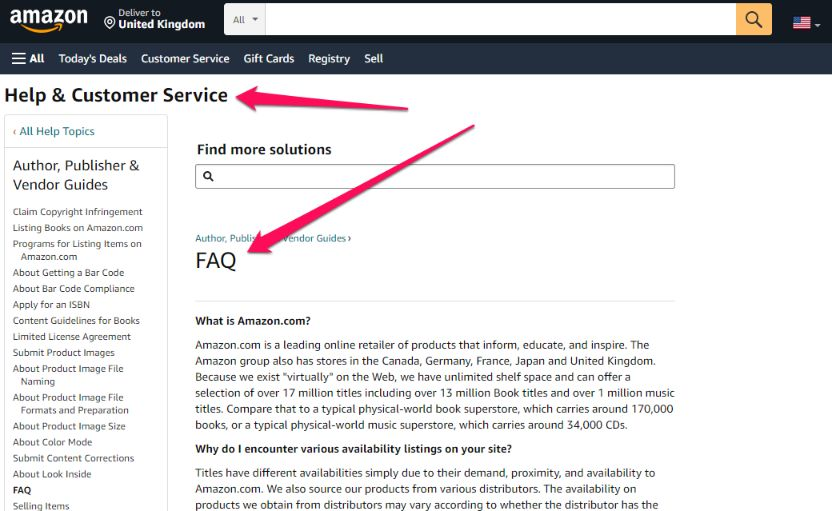 If you don't know how to create an FAQ page, then take a look examples here to get the idea.