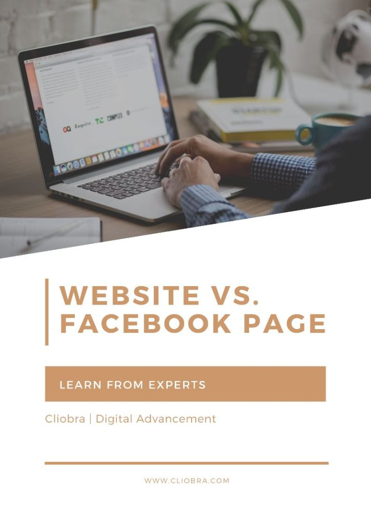 Website vs. Facebook Page: Which One Your Business Needs and Why?