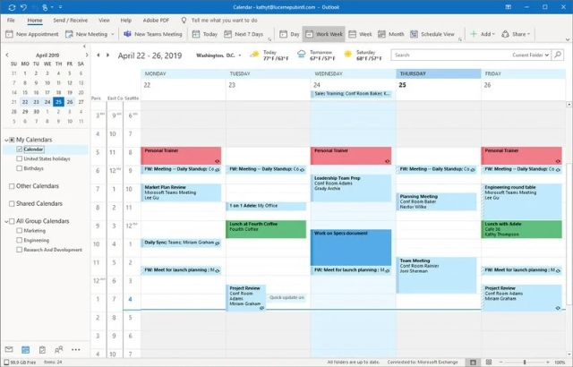Use scheduling software to check your regular project works.