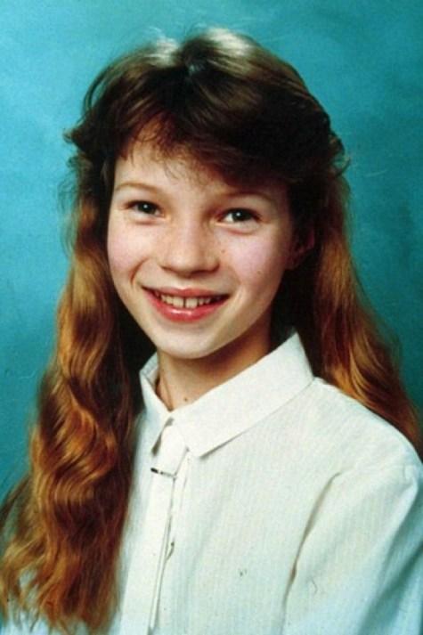 Kate Moss da bambina: c'è speranze per tutti hehe