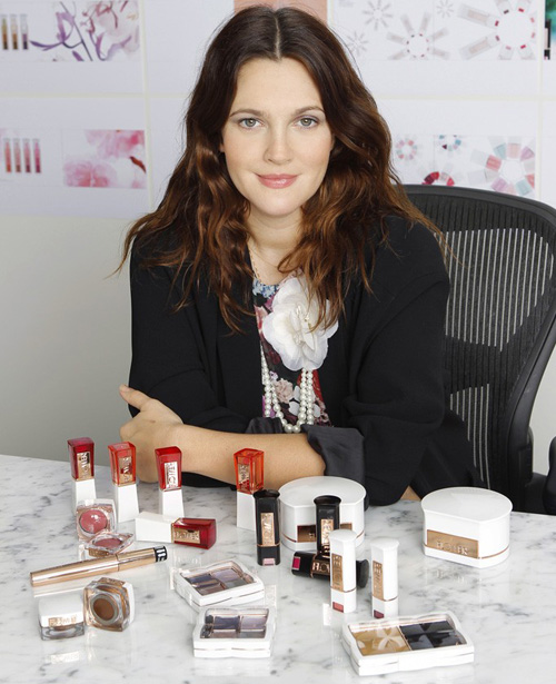 Drew-Barrymore-Spring-2013-Flower-Makeup-Collection