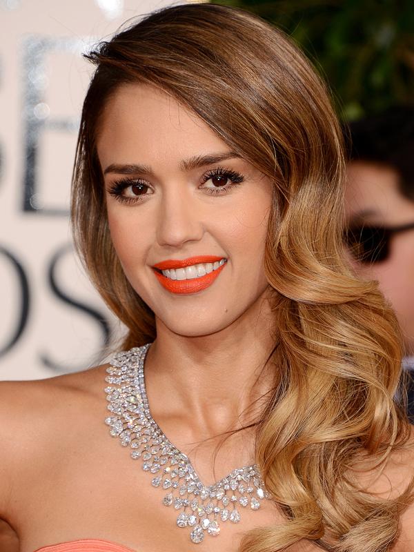 Jessica-Alba-Golden-Globe-Awards-2013-makeup