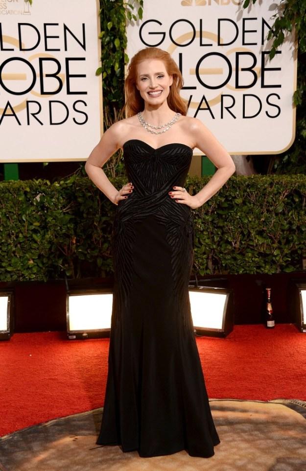 Jessica-Chastain-Golden-Globes-2014