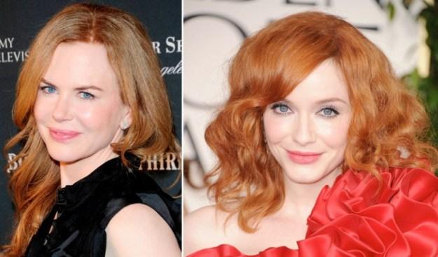 Le rosse: Nicole Kidman e Christina Hendricks