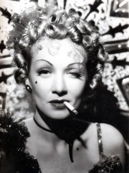 la diva Marlene Dietrich!
