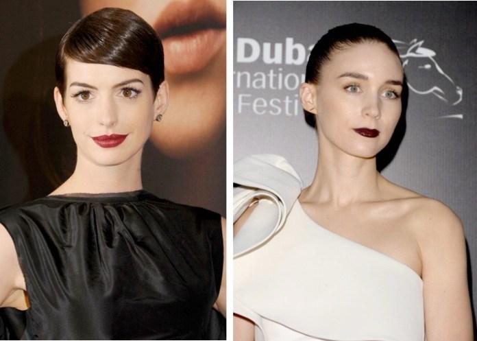 Anne Hathaway e Rooney Mara
