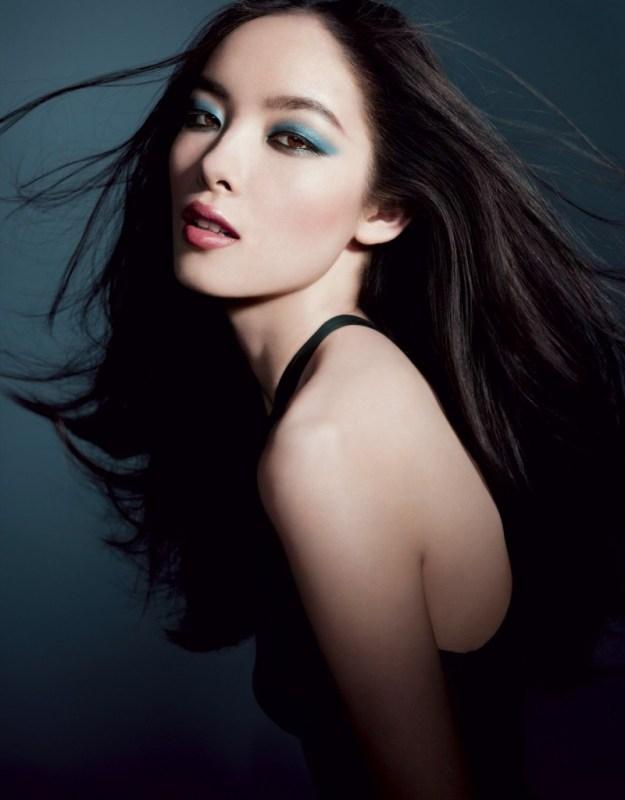 clio Sun Fei Fei - Armani Cosmetics Spring Summer 2012