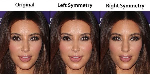il suo viso, considerato già perfetto e simmetrico al naturale, diventerebbe quasi di plastica! (o lo è già???? :D )
