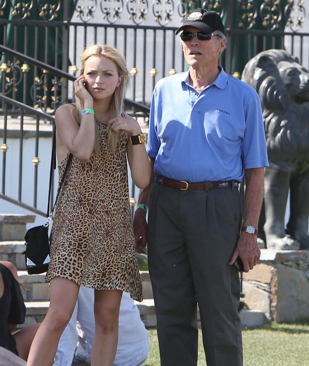Francesca-and-Clint-Eastwood