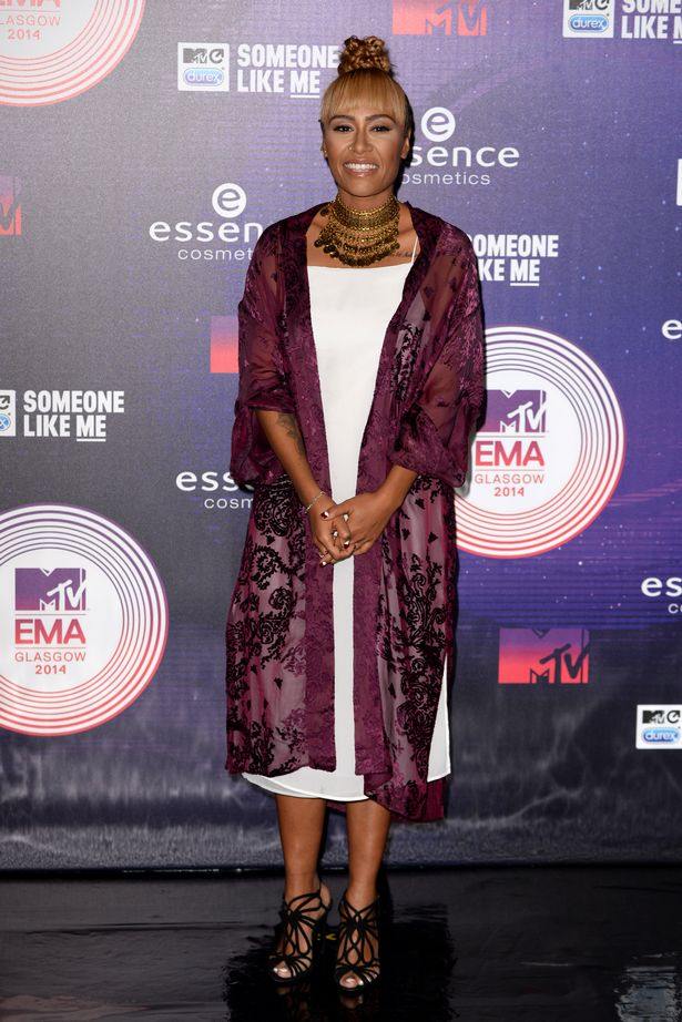 Emeli-Sande-arriving-at-the-MTV-Europe-Music-Awards-at-the-Hydro-in-Glasgow-Scotland