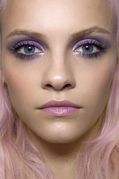 lilac-makeup