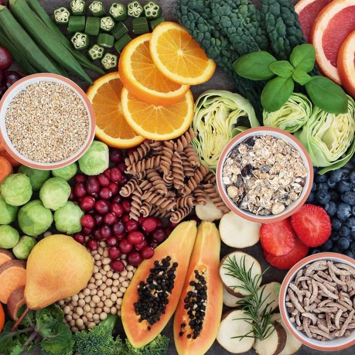 Ipocalorica vegane Diät Menü Settimanale