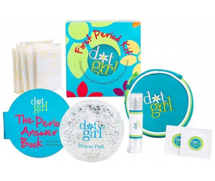 period kit dot girl