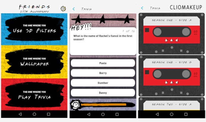 25 anni Friends: l'applicazione Friends25 dedicata al 25° anniversario