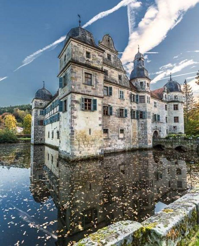 Birrifici Germania: Castello di Mitwitz sulla strada della birra