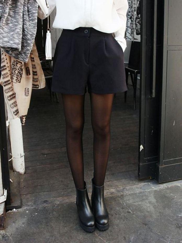 cliomakeup-come-indossare-shorts-inverno-17-nero-stivaletti