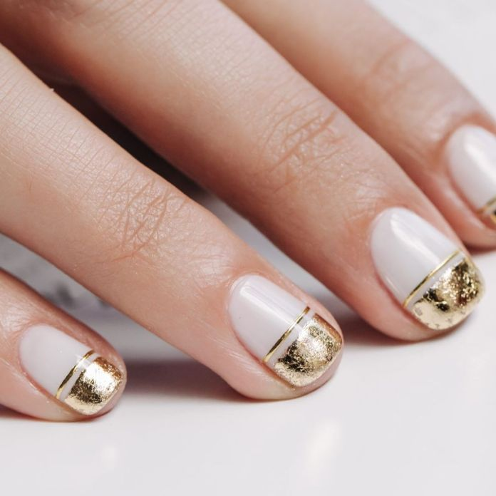 Cliomakeup-unghie-white-winter-nails-17-oro-metal