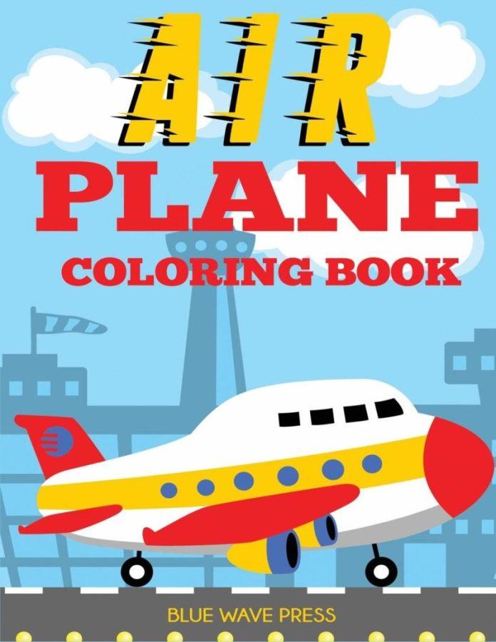 bambini in aereo: gli album da colorare a tema volo sono un'ottima soluzione