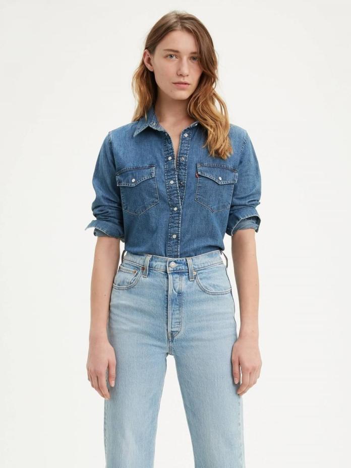 Cliomakeup-look-con-camicia-8-levis-denim