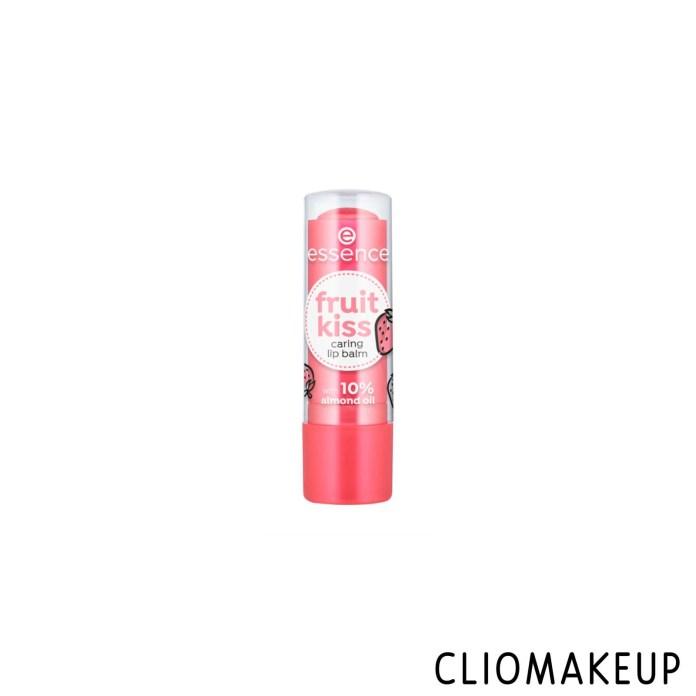 cliomakeup-recensione-balsamo-labbra-essence-fruit-kiss-caring-lip-balm-1
