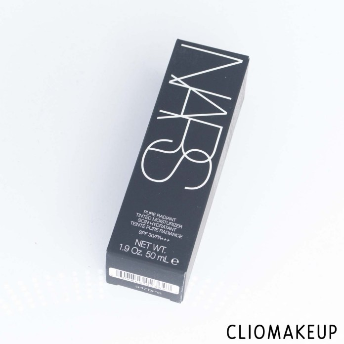 cliomakeup-recensione-crema colorata-nars-pure-radiant-tinted-moisturizer-spf30-2