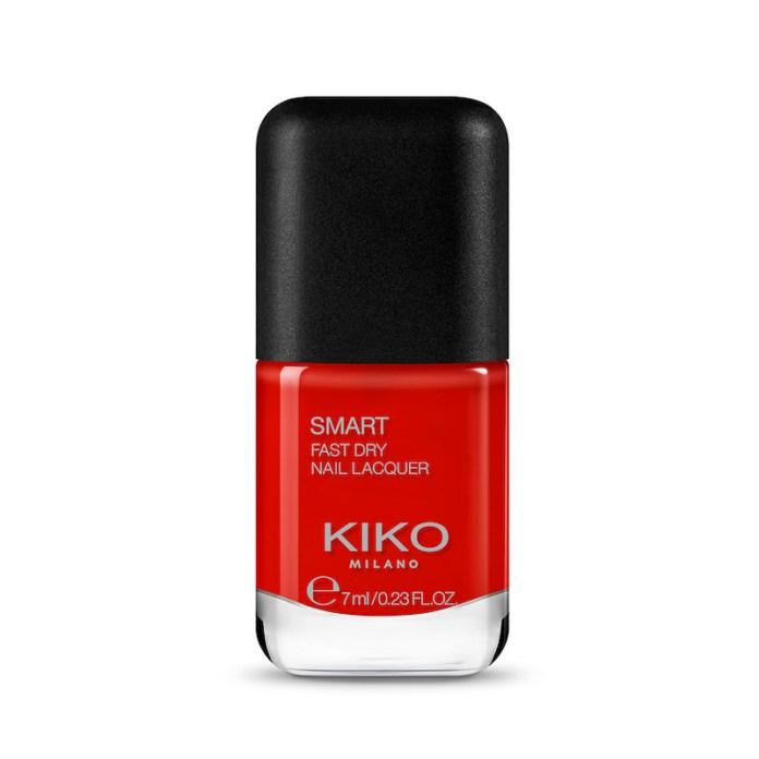 cliomakeup-smalti-kiko-autunno-2020-teamclio-rosso