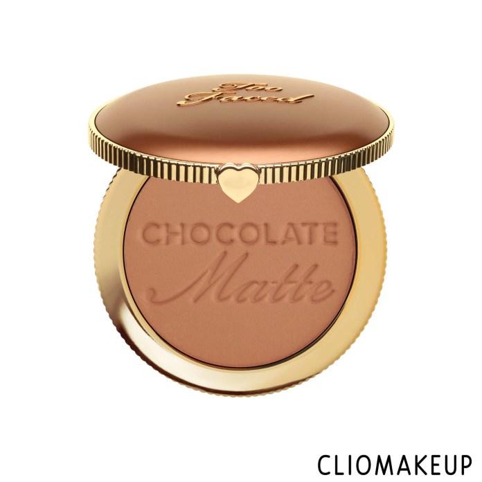cliomakeup-recensione-bronzer-too-faced-milk-chocolate-soleil-long-wear-matte-bronzer-1