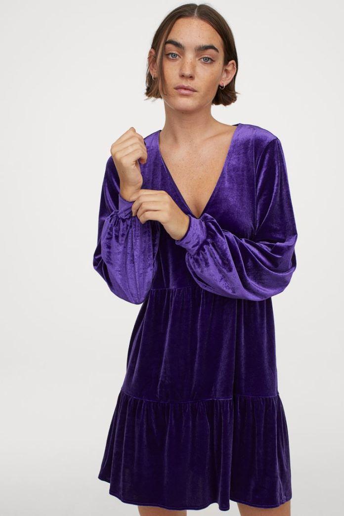 Cliomakeup-minidress-inverno-2021-8-hm-abito-velluto-viola