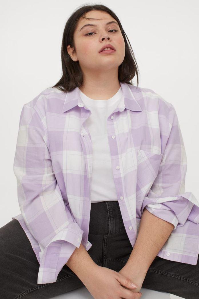 Cliomakeup-look-con-camicia-inverno-2021-11-quadri-lilla