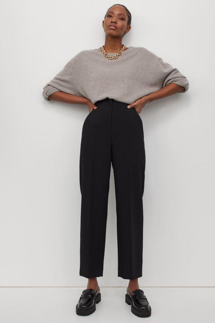 Cliomakeup-pantaloni-eleganti-inverno-2021-9-hm-Pantaloni-neri