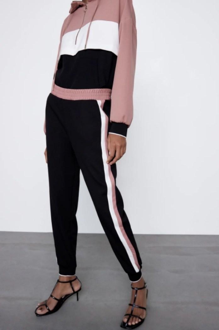 Cliomakeup-pantaloni-jogger-inverno-2021-29-zara-righe-laterali