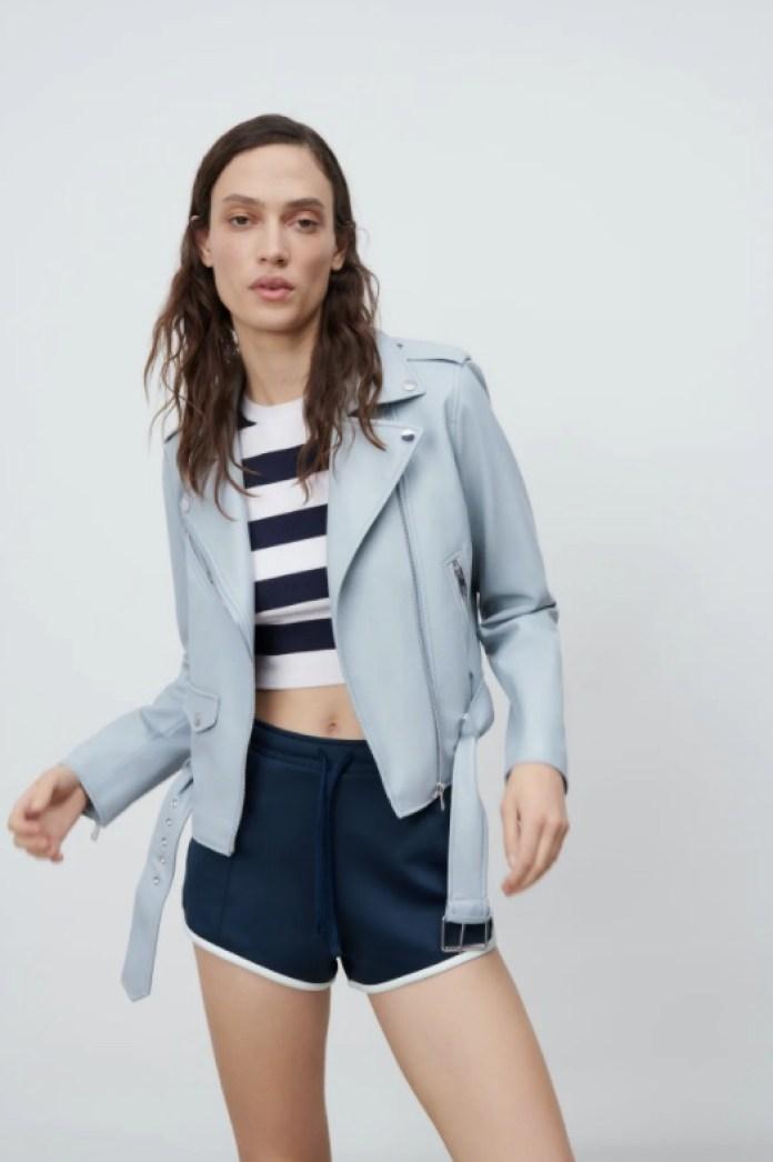 Cliomakeup-giacche-primaverili-zara-pelle-azzurro