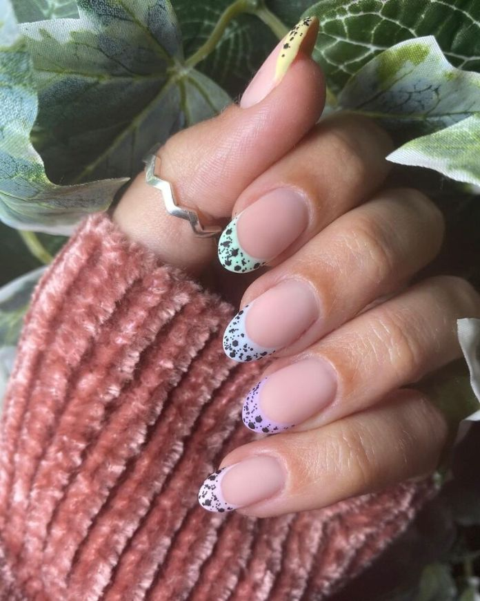 cliomakeup-funky-french-manicure-animalier-pois
