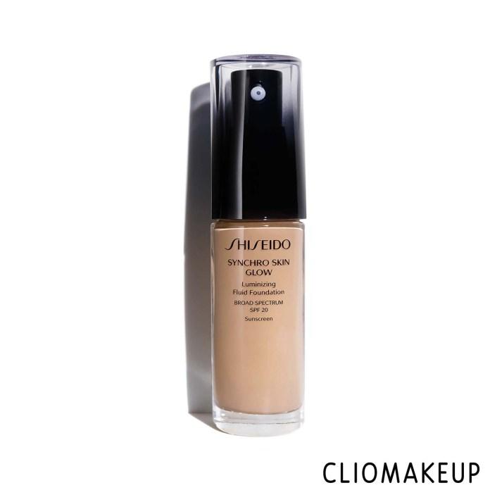 cliomakeup-recensione-fondotinta-shiseido-synchro-skin-glow-luminizing-fluid-foundation-spf-20-1